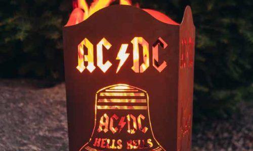 AC DC Rost Deko – Bilder