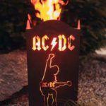 AC DC Rost Deko