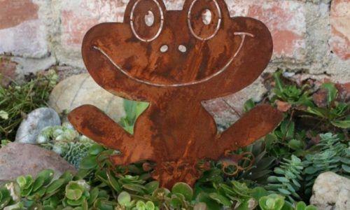 Bilder rostdeko und edelrost seite 4 von 4 rost deko for Frosch figuren fur garten