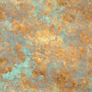 Edelrost auf Kupfer - GRÜNSPAN