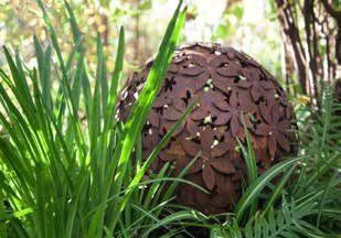 Allium Deko - Bilder - Rost Deko