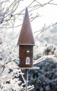 Rost und Schnee Vogelhaus2