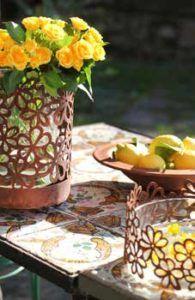 Sommer Deko Ideen mit Blumen
