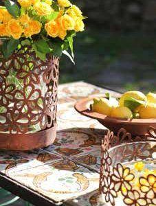 Sommer Deko Ideen mit Blumen – Bilder